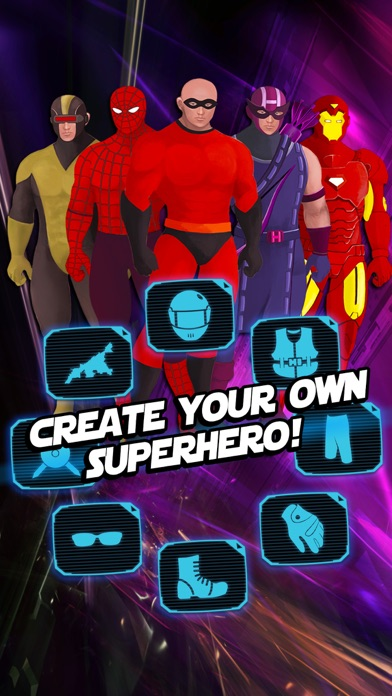 Superhero Creator - Super Hero Character Costume Maker u0026 Dress Up Game for Man FREE by lei zhang (iOS United States) - SearchMan App Data u0026 Information & Superhero Creator - Super Hero Character Costume Maker u0026 Dress Up ...
