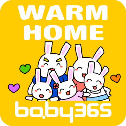Warm home-baby365 icon