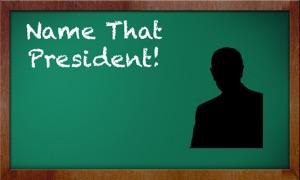 NAME THAT PRESIDENT: Presidential Portrait & Photo Quiz Flash Card Game