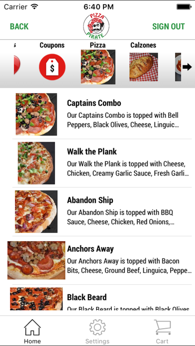 Pizza PirateScreenshot of 3