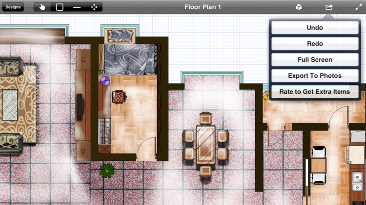 Interior Planner - Home Design & Floor Plans & Illustration Architecture screenshot-0