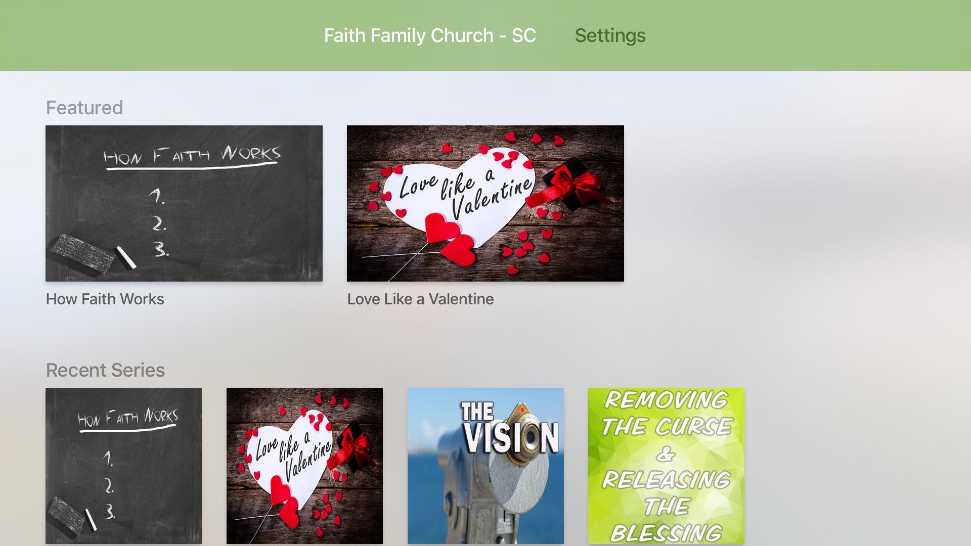 Faith Family Church - SC screenshot 7