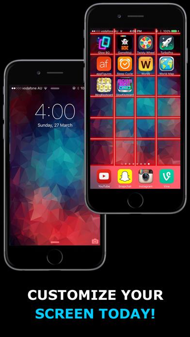 Glow Backgrounds review screenshots