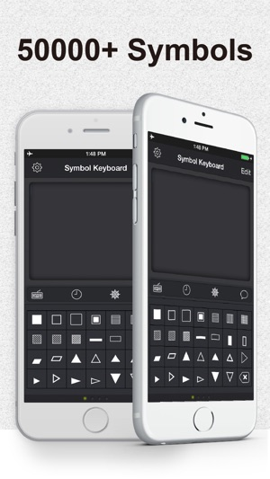 Symbol Keyboard Infinite Symbols And Special Characters For