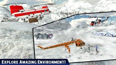 救急車ヘリコプターパイロットゲーム:フライトシミュレータのスクリーンショット3