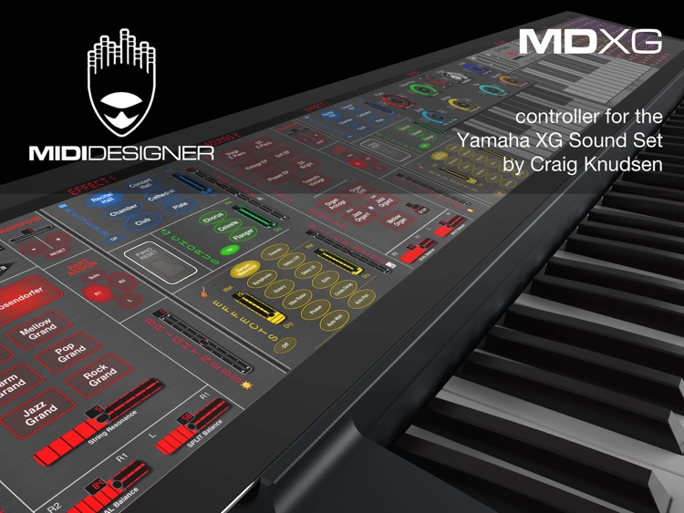 MDXG: XG Sound Set Controller screenshot-0