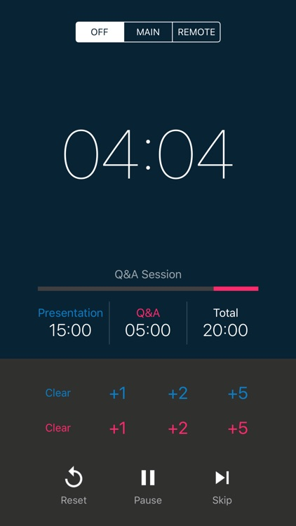 PresenTimer - a true timer for presentation