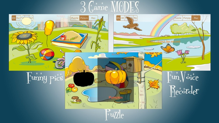 Wunderkind - seasons, education game for youngster and cissy screenshot-1