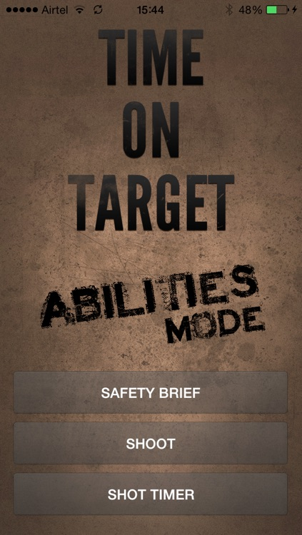 Time on Target - Abilities Mode