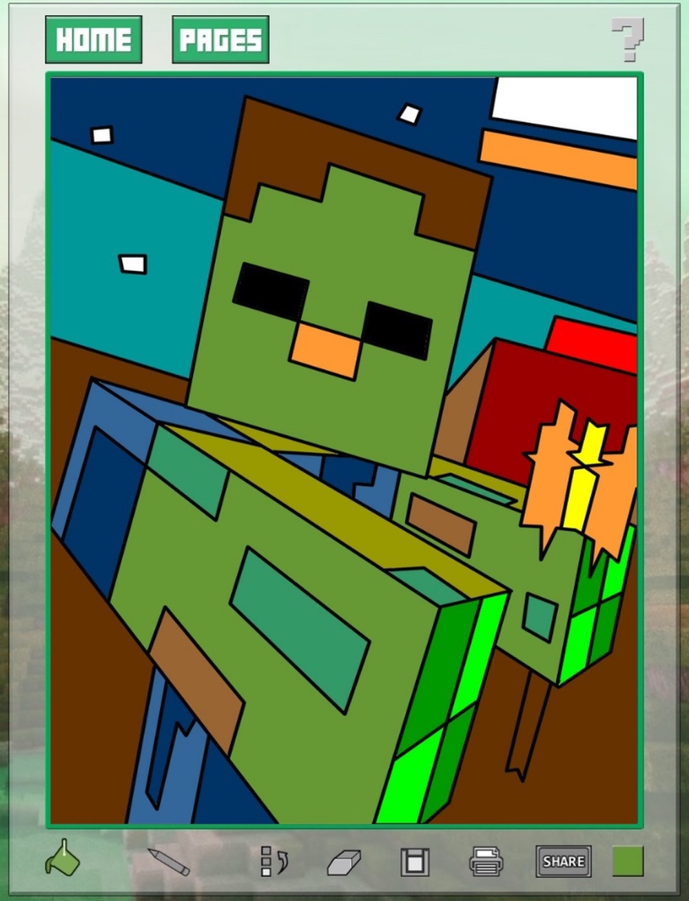 Quick Color for Kids - Minecraft Edition 1 hack tool