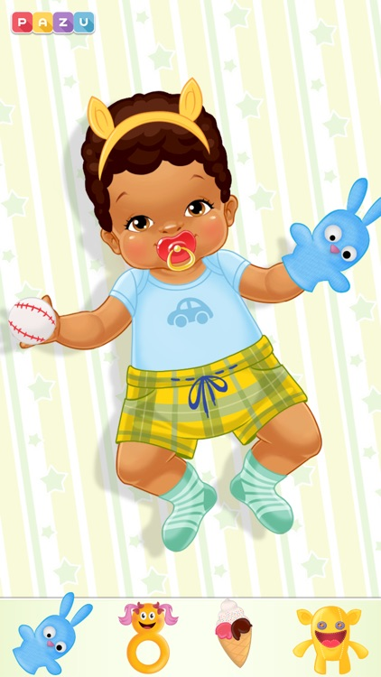 Chic Baby - Baby Care & Dress Up Game for Kids, by Pazu screenshot-3