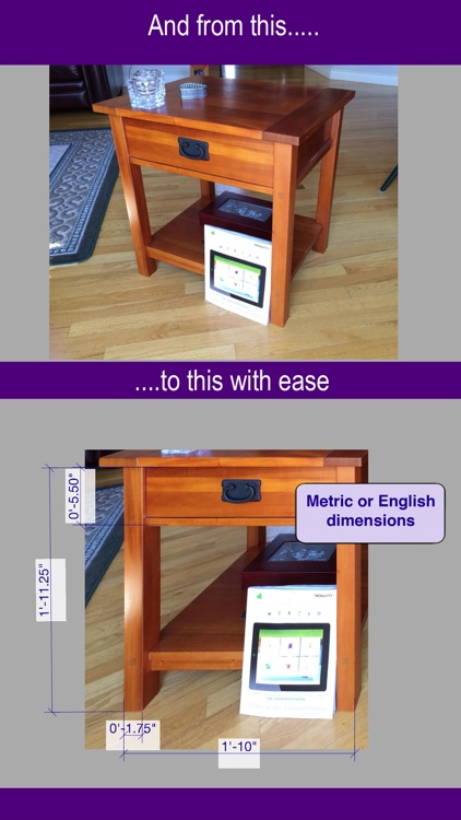 Photo Measure wall dimensions