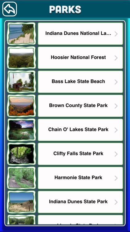 Indiana National & State Parks