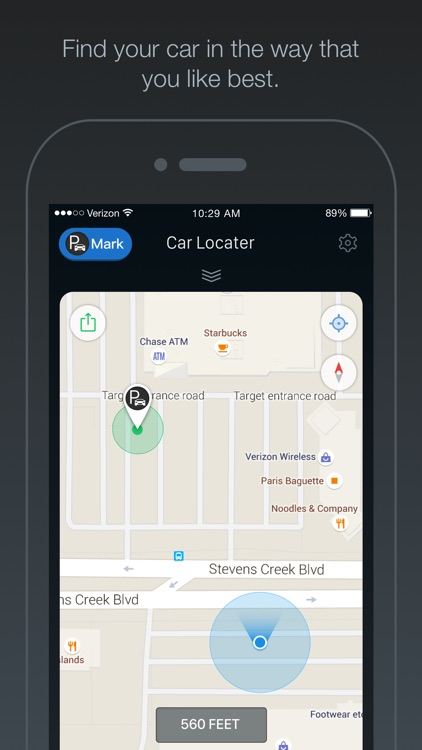 Car Locator - GPS Auto Locator, Vehicle Parking Location Finder, Reminder