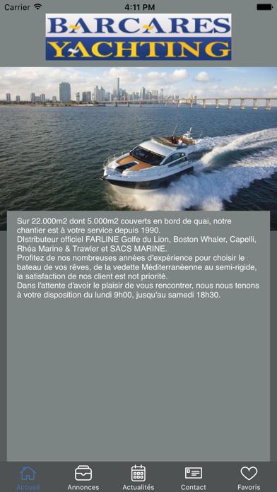 Barcares Yachting screenshot one
