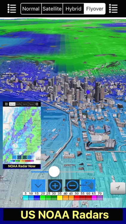 US NOAA Radars 3D Pro screenshot-1