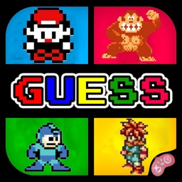 Trivia for Retro Games fans - Guess the Classic Old School Characters