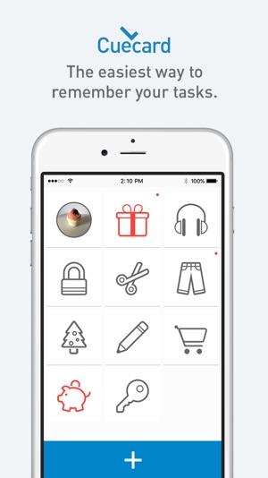 Cuecard - Visual To-Do List, Tasks & Reminders Screenshot