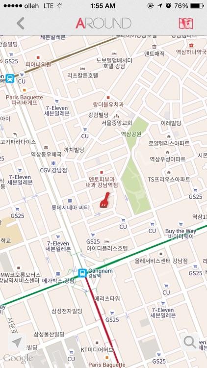 Around - Where to eat