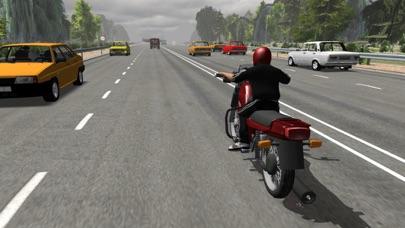 Russian Moto Traffic Rider 3Dのおすすめ画像1
