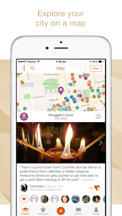HeyLets - Your Social Food, Drink & Travel Guide screenshot-2
