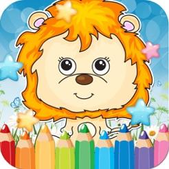 Animales Safari Dibujo Para Colorear Libro Páginas Ideas
