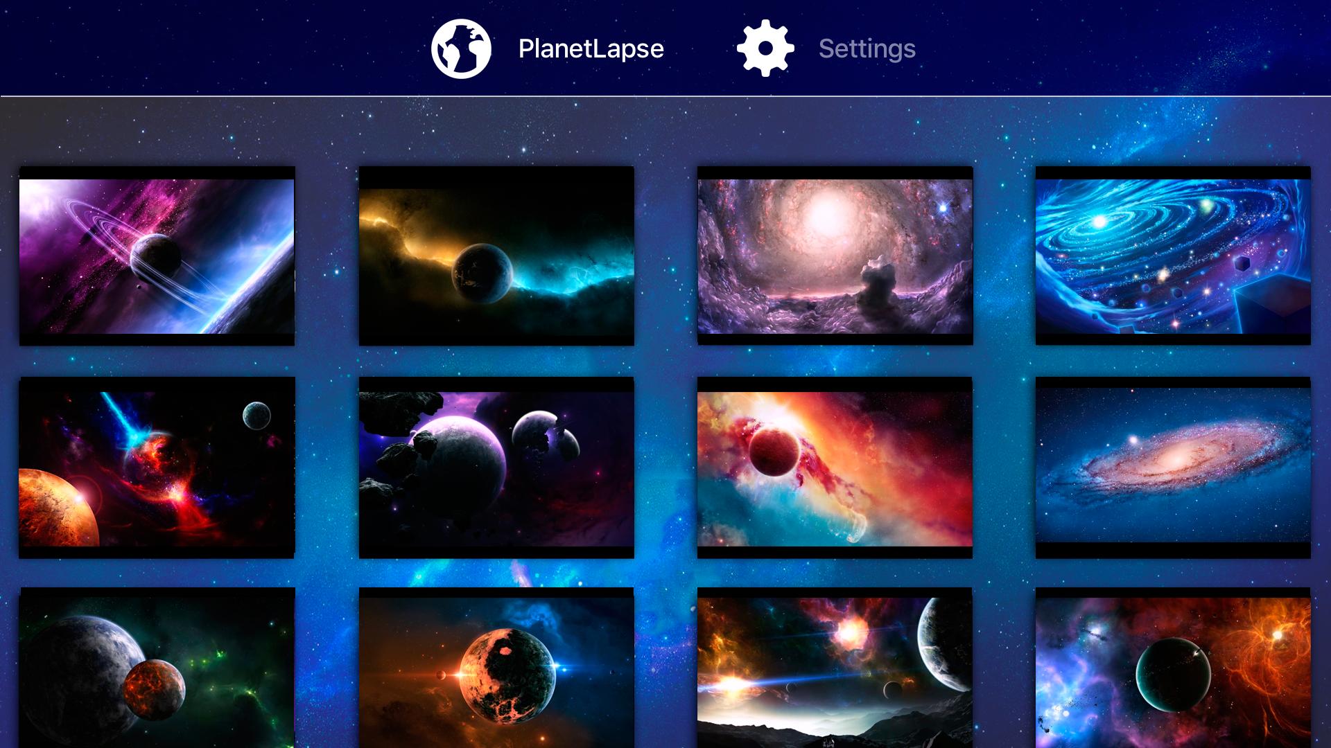 PlanetLapse Space screenshot 5