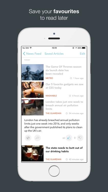 JarvisNews - AI Summarized News & Stories screenshot-3