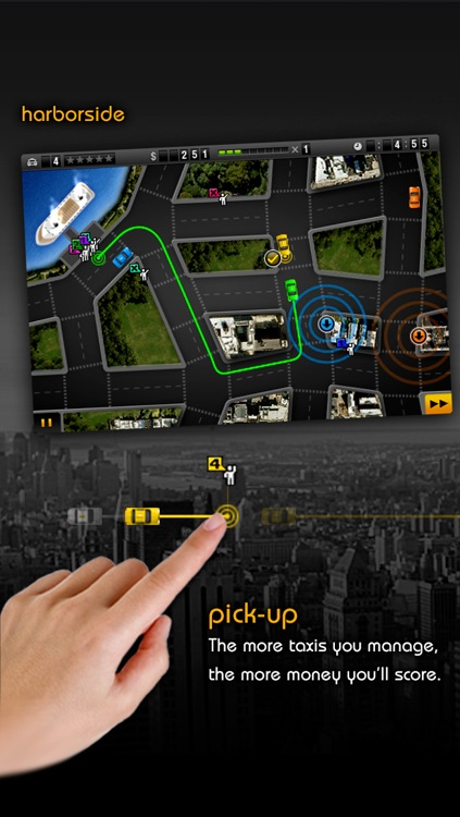 Fare City: Taxi Mania screenshot-1