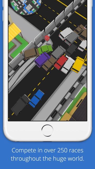 Screenshot from Slippy Cars