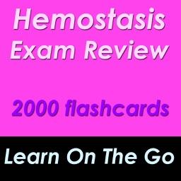 Hemostasis Course Review: 2000 Flashcards & Quiz