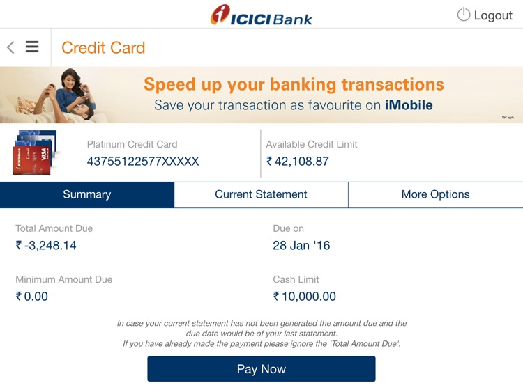 ICICI Bank iMobile