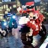 立方体 摩托车 赛车 游戏 免費
