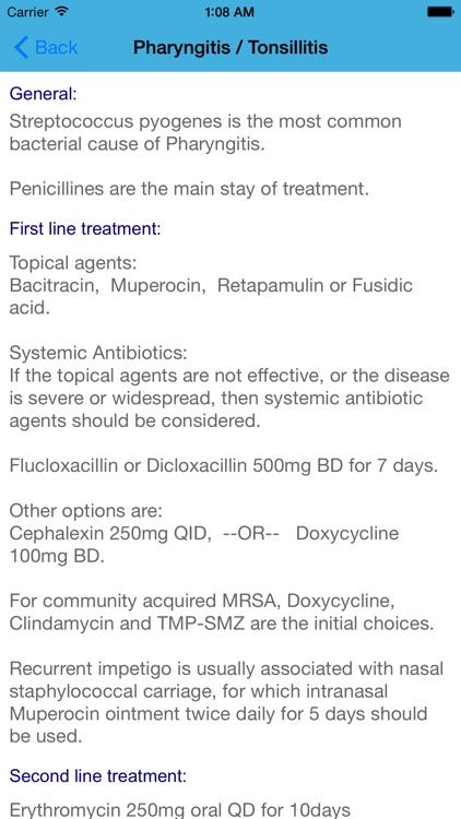 Antibiotics and Infections Free