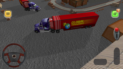 Screenshot from Truck Sim: Everyday Practice - 3D truck driver simulator