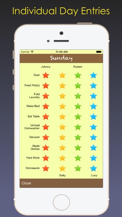 Chorzee - Kids' chore tracking made simple!