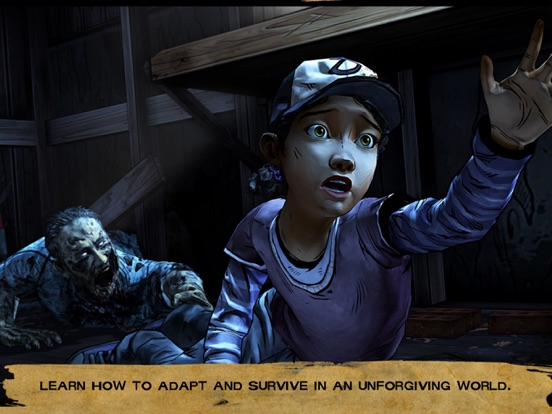 Ipad Screen Shot Walking Dead: The Game - Season 2 1