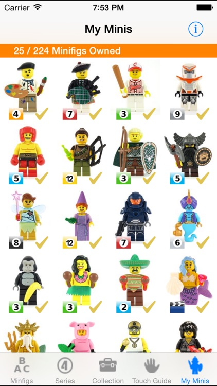 MyMinis - Lego Minifig Collector with Touch Guide screenshot-3