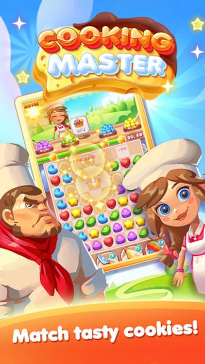 Cookie Chef - 3 match puzzle crush mania game screenshot-3