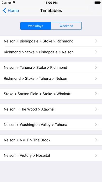 NBus Timetable screenshot-3