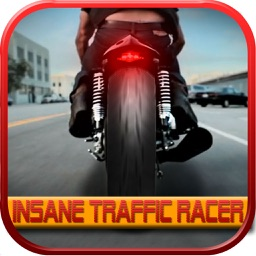 Insane Traffic Racer - Speed motorcycle and death race game