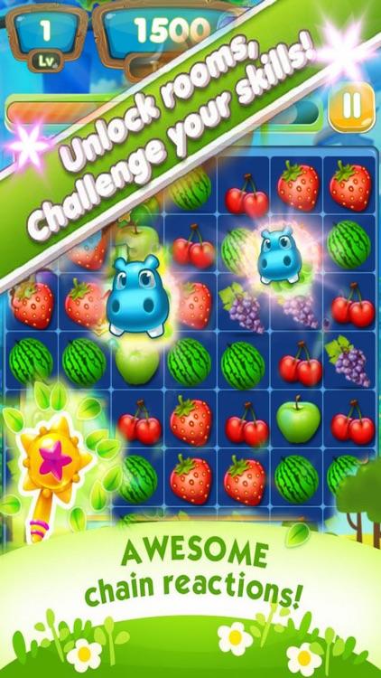 Garden Fruit - Pop Clash FREE