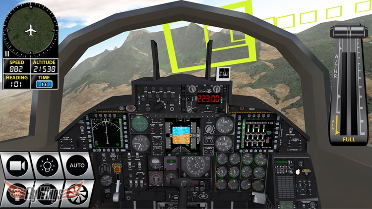 Flight Simulator FlyWings Online 2016 HD screenshot-4