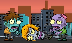 Giant Zombies Attack