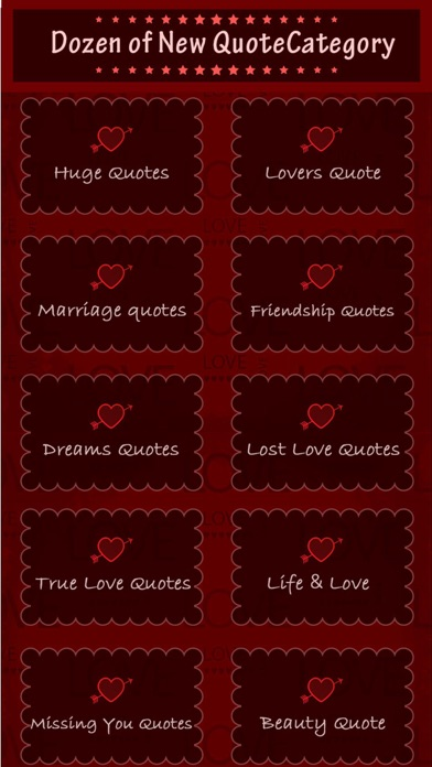 Valentine Quotes -Romantic ideas & sms screenshot two