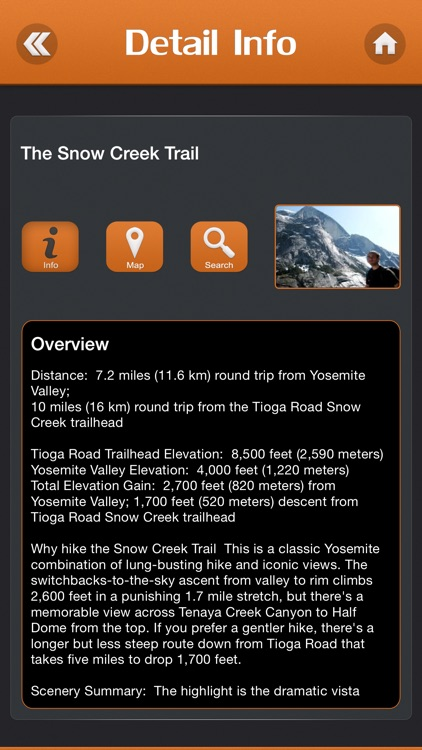 Hiking in Yosemite National Park screenshot-2