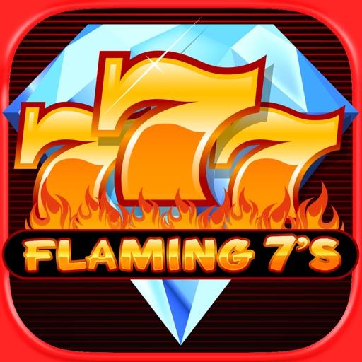 Flaming 7's Slots - Classic Vegas Double & Triple Jackpot