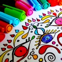 Mandala Coloring Pages Game icon