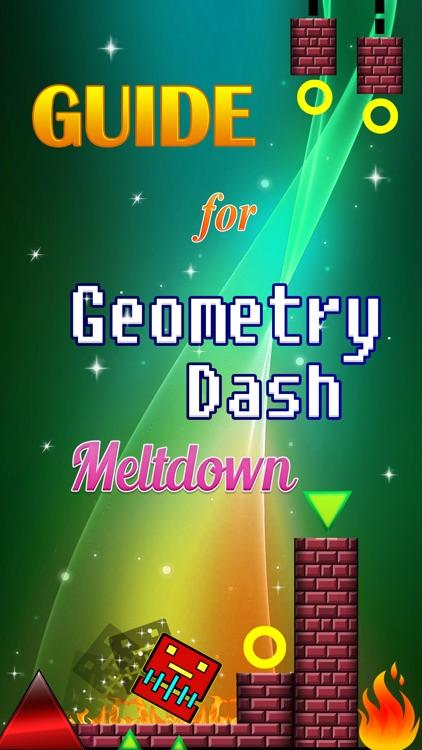 Guide for Geometry Dash Meltdown