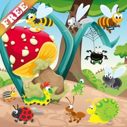 Insects and Bugs for Toddlers and Kids : discover the insect world ! FREE game